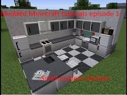 Minecraft Kitchen Ideas Youtube by Mmt Modded Minecraft Tutorial Ep 1 Small Modern Kitchen Youtube