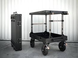 Uline Utility Cart Black Wire