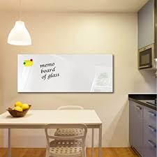 dekoglas glas magnettafel einfarbig weiß fmk 01 000