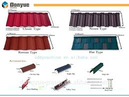 buy metal roofing coated roof tiles prices color roof