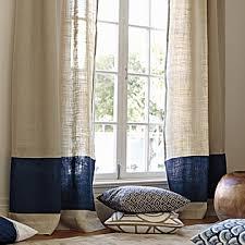 Smocked Burlap Curtains By Jum Jum by Color Block Window Panel U2013 Navy Serena U0026 Lily Pretty Window