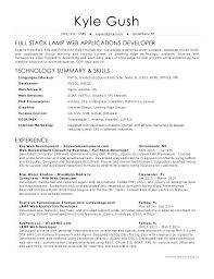Sample Web Developer Resume Front End Junior Objective Gush Senior