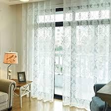 de yangd gardinen wohnzimmer modern mit ösen voile