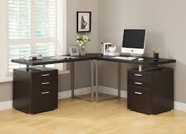 Bush Vantage Corner Desk Dimensions by Buy Computer Desk Cappuccino L Shaped Corner Desk At Harvey