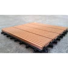 Standard Tile Edison Nj Hours by Vifah V160 Composite Ipe 12 X 12 Deck Tiles Set Of 11