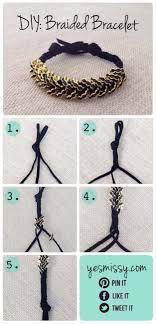 17 Braided Cord Bracelet