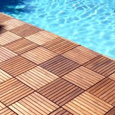 Runnen Floor Decking Outdoor Brown Stained by Interlocking Outdoor Deck Tiles Suppliers And Manufacturers At