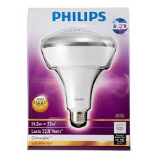 philips 423756 14 5 watt 75 watt br40 led indoor flood light