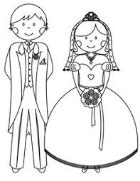 17 Wedding Coloring Pages For Kids Who Love To Dream About Their Big Day Printables