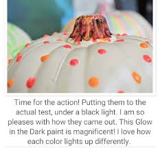 Glow In The Dark Plastic Pumpkins by Musely