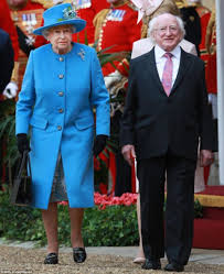 Britains Most Decorated Soldier Ever by Irish President Michael D Higgins Arrives In Britain For Historic
