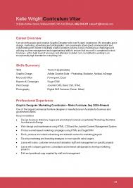 Sample Resume Graphic Designer For Design Student Within 21 Extraordinary