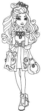 Free Printable Ever After High Coloring Pages Darling Charming