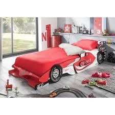 chambre voiture garcon castellet lit enfant voiture évolutif et blanc verni mat l