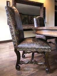 Crocodile Dining Chairs At Accents Of Salado | Tuscan Decor ...