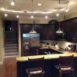 lighting brushed nickel track lighting kitchen lithonia