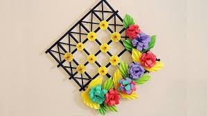 DIY Wall Decoration Ideas With Paper Craft
