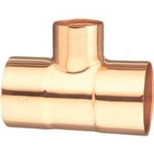 "Elkhart Products Copper Tee - 3/4"" x 3/4"" x 1/2"""