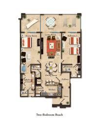 6x8 Bathroom Floor Plan by Suite Layouts Garza Blanca Residence Club