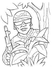 Free Printable Military Coloring Sheets