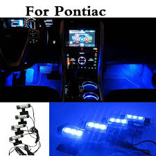 100 G5 Interior US 1081 New Car Led Atmosphere Lights Decoration Blue Lamp Styling For Pontiac Aztec Bonneville G4 G6 G8 Grand AMin Signal Lamp From