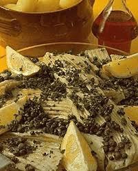cuisiner la raie au beurre noir raie au beurre noir pour 4 personnes recettes à table