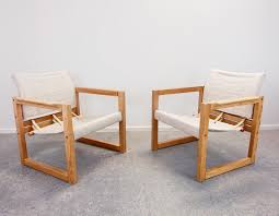 Set Of 2 'Diana' Safari/lounge Chairs By Karin Mobring For Ikea