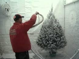 75 Flocked Christmas Tree by Flocking Christmas Trees Youtube