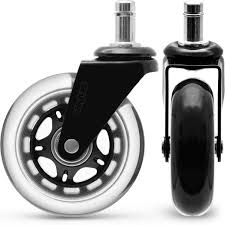 Best Casters For Office Chairs, Heavy Duty Replacement Wheels, Safe ... Amazoncom Opttico Office Chair Caster Wheels Replacement Black 3 Set Of 5 By Lehawk Universal Heavy Rollerblade Casters For Herman Miller Aeron 6pcs Wheel Swivel Mute Hard Soft Pu Castor For Timber Floor Pack Duty Stem Roller 3inch 1pcs 40kg 2 Improv Carpet Floors Slipstick Foot Desk No Without White Luxura Computer With Which One Should I Choose