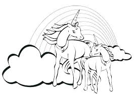 Hard Unicorn Coloring Pages Page Color Together With