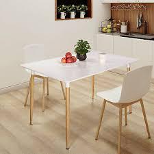 designer esszimmertisch arbeitstisch küchentisch weiß