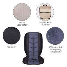 COMFIER Heated Car Seat Cushion - Universal 12V Car 24V Truck Seat ... Quality Breathable Flax Fabric Car Seat Cushion Cover Crystal New Oasis Flotation Truck Specialists Silica Gel Non Slip Chair Pad For Office Home Cool Vent Mesh Back Lumbar Support New Universal Size Cheap Cushions Find Deals On Line At Silicone Massage Anti The Shops Durofoam 002 Chevy Tahoe Dewtreetali Beach Mat Sports Towel Fit All Wagan Tech Soft Velour 12volt Heated Cushion9438b