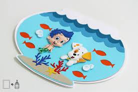 Bubble Guppies Bathroom Decor by Bubble Guppies Invitations Fish Bowl Invitation Birthday