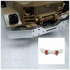 100 Truck Accessories Mn Modified DIY Metal FrontRear Bumper For WPL 116 RC Car
