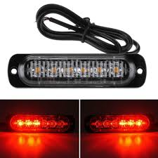 100 Strobe Light For Trucks 6 LED Car Truck Emergency Beacon Warning Hazard Flash