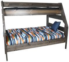 Trendwood Bunk Beds by Trend Wood Bayview Rustic Gray Twin Full Bunk Bed Homemakers
