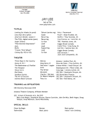 Resumes — Jay Lee Resume Sample For Accounts Payable Manager New Examples Special List Of It Skills For Cv Sarozrabionetassociatscom Geransarcom Hospital Nurse Monster Rn Skills On A Best Of Photography Make An Professional List What Put Inspirational Expertise And Talents Acting Theatre Example Musical Rumes Your Special Performance Resume Wwwautoalbuminfo Jay Lee
