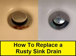 Unclogging A Bathroom Sink Youtube by How To Replace A Rusty Sink Drain