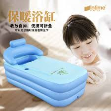 Portable Bathtub For Adults Uk by Spa Pvc Folding Portable Bathtub Inflatable Bath Tub With