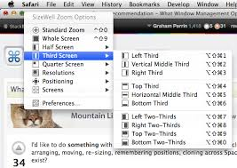 Tiling Window Manager Osx by Software Recommendation What Window Management Options Exist For