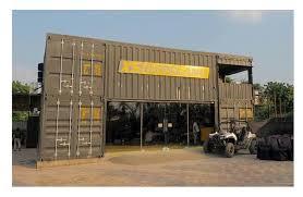 100 Container Building Akash Engimech India Pvt Ltd Car Showroom