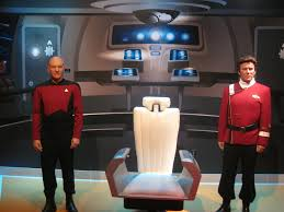 Star Trek Captains Chair by Madame Tussaud U0027s Hollywood Adds Captain Picard Wax Figure U2013 Paired