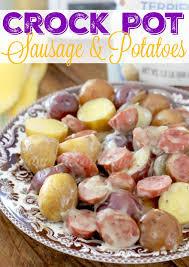 Crock Pot Potato Soup Mama by Crock Pot Sausage U0026 Little Potatoes The Country Cook