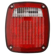 Signal-Stat, Incandescent, Red/Clear Polycarbonate Lens, Universal ... Truck Lite Led Headlights Lights 15 Series 3 Diode License Light Rectangular Bracket Mount 80 Par 36 5 In Round Incandescent Spot Black 1 Bulb Trucklite Catalogue 22 Yellow Side Turn 66 Clear Oval Backup Flange 7 Halogen Headlight Glass Lens Alinum 12v Signalstat Redclear Acrylic Lh Combo Box 26 Chrome Atldrl Universal 4 X 6 Snow Plow 21 High Mounted Stop 16 Red 60 Horizontal