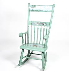Hand Painted Wooden Chairs - Ivoiregion Sale Vintage Folk Art Rocking Chair Pa Dutch Handpainted Black Dollhouse Doll Fniture Painted Blue White Chalk Paint Decor Ideas Design Newest Hand Painted Peacock Rocking Chair Nursery Fniture Queen B Studios Wikipedia Danish Mid Century Solid Wood Vintage Rocking Chair Secohand Pursuit Antique Rocker As Seasonal Quilt From Whimsikatz Upcycled Hand Cacti Motif Retro School Herconsa Childrens Hand Painted Shrek