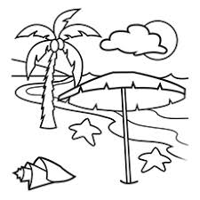 Playing Beach Ball Coloring Pages The Serene
