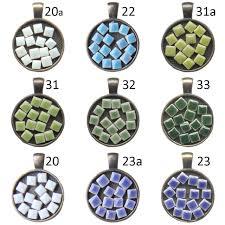 400 pcs pack 5mm micro ceramic mosaic tile thickness 3 5mm diy