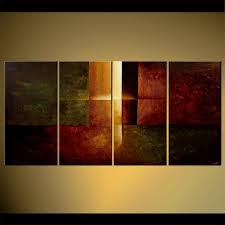 abstract painting modern abstract multi panel eternal light