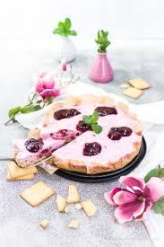 rote grütze joghurt cheesecake