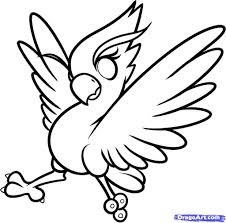 Fun Things For Kids To Draw How To Draw A Phoenix For Kids Step Step Fantasy